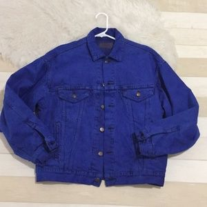 Vintage Levi's blue klein jean jacket